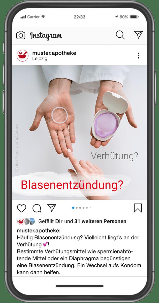 Apotheken – Instagram Post mobile
